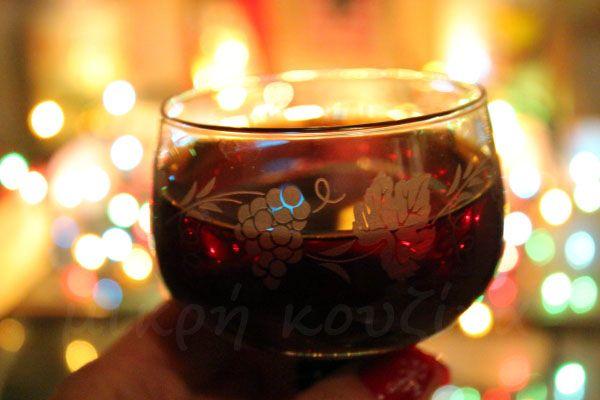 μικρή κουζίνα: Glühwein -  Ζεστό μυρωδάτο κρασί