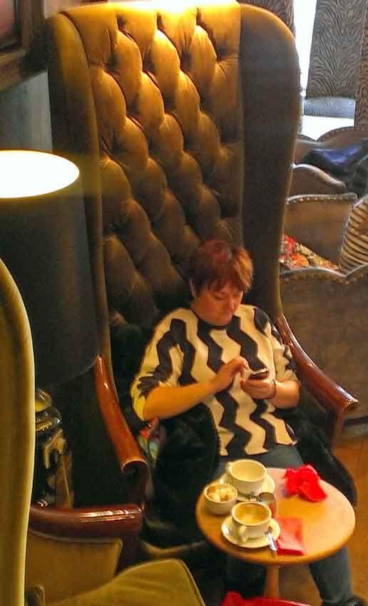 Me in giant chair after birthday cake, Jakes, Harrogate. http://www.mandycanudigit.co.uk/#!rhs-harlow-carrharrogate/cinf