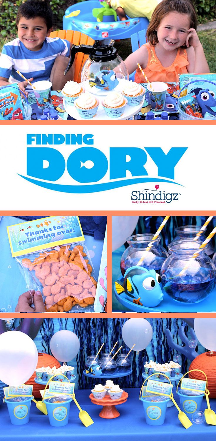 Just keep swimming & check out the @Disney #FindingDory party that @lauraslilparty styled! Explore all of our Finding Dory party supplies & save 10% on your party ideas with promo code SZPINIT until 12/31/19 11:59 PM EST.