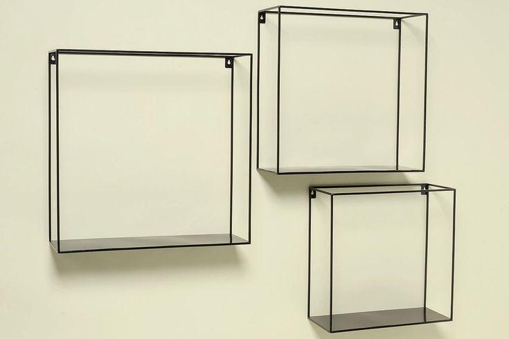 3 Piece Accent Shelf Set