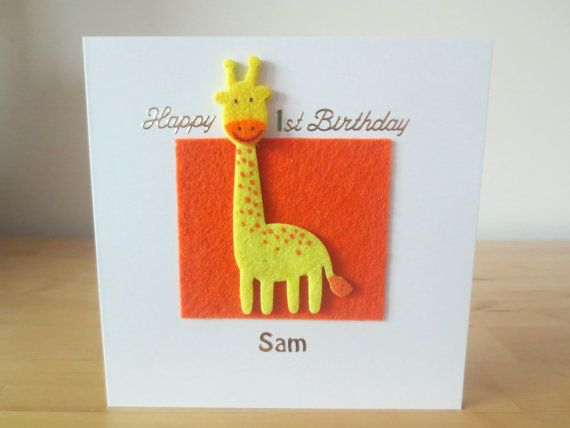 The 25 best First birthday cards ideas – Birthdays Card Shop