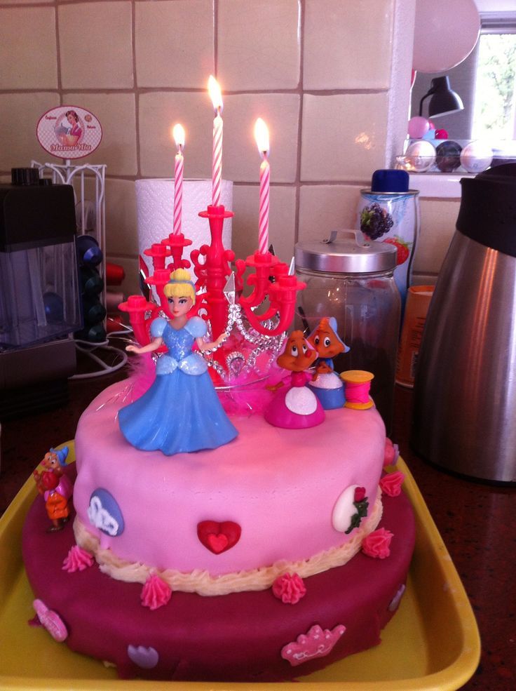 Cake Designs For 4 Year Girl : Birthday cake for my 3 years old girl. Traktaties ...