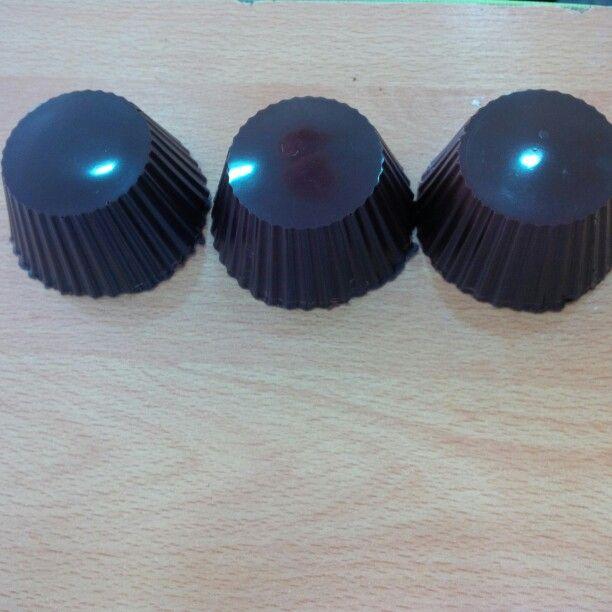 Moldes de chocolate Mapricoa de moldeo.