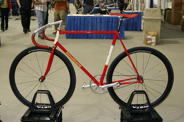 Richard Sachs Track Bike by pcnotpc, via Flickr