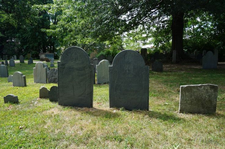 Old Burying Point Cemetery, Salem, USA