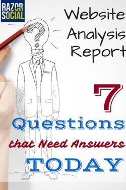 Website Analysis Report: 9 Questions You Want Answered Today