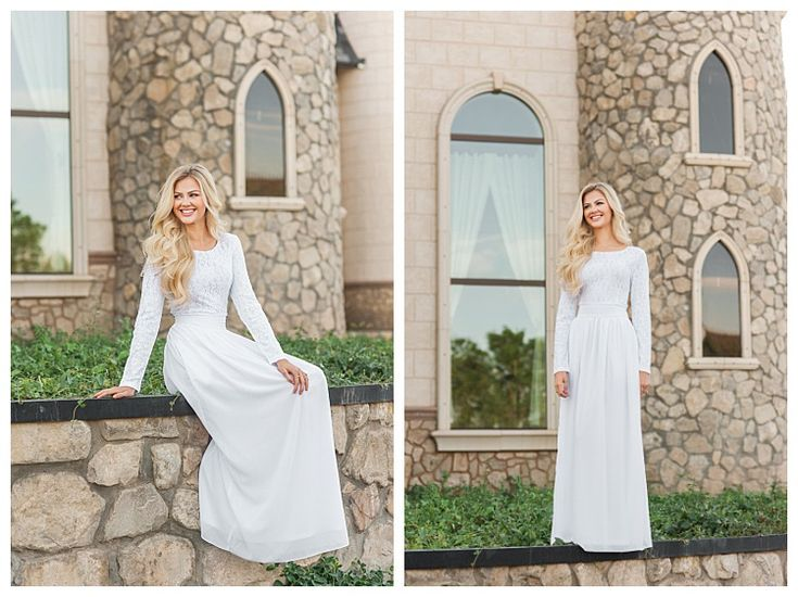 The Hartford, an LDS temple dress by LatterDayBride