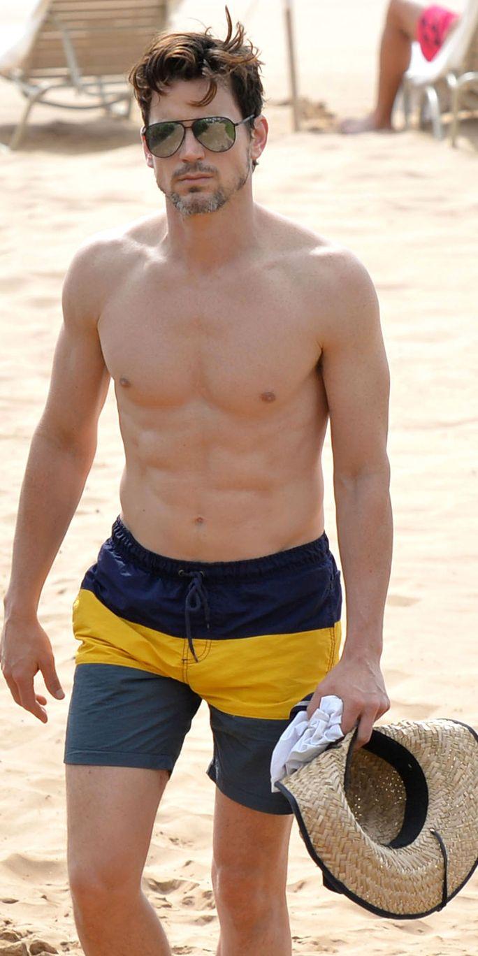 The Hottest Celebrity Abs Matt Bomer Celebrity Abs Shirtless