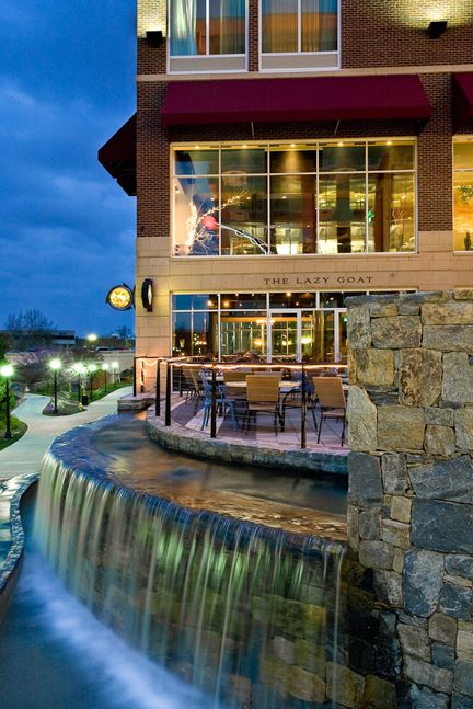 The Lazy Goat Restaurant Offers Many Tastes To Explore Beautiful View Of Reedy River Greenville South Carolina