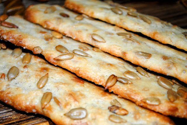 Palitos de pan de pipas Mielolimon.blogspot.com