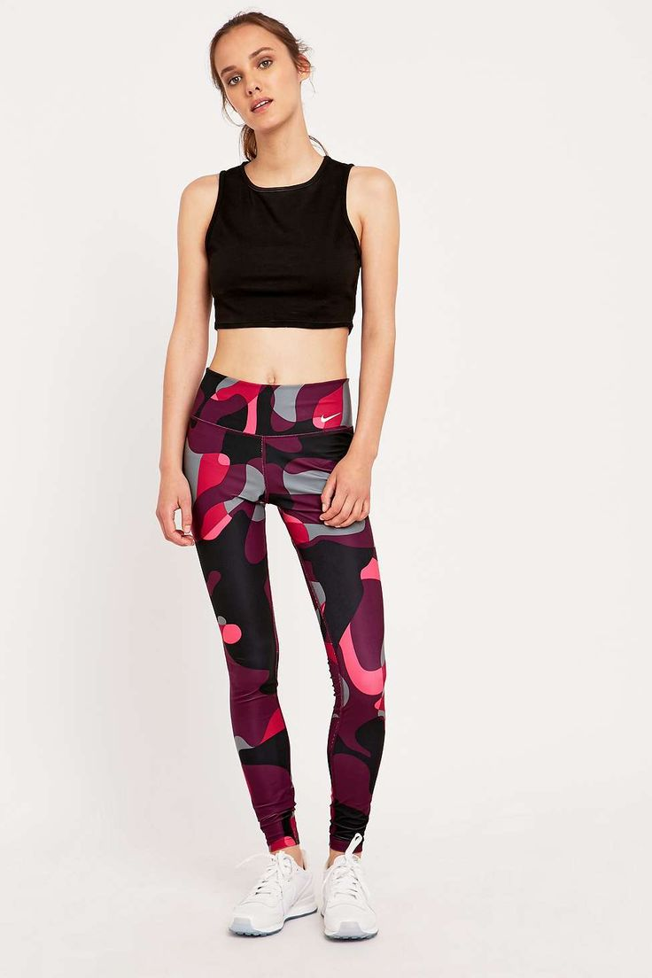 nike air max plus proche iii - Nike Legend 2.0 Pink Camo Leggings | Gymwear outfits | Pinterest ...