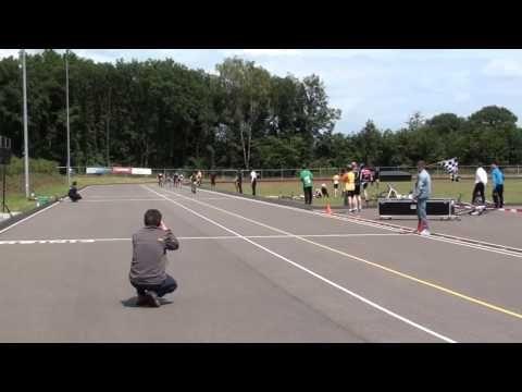 European Cup 2011  Kickbike sprint series races. Fun to watch