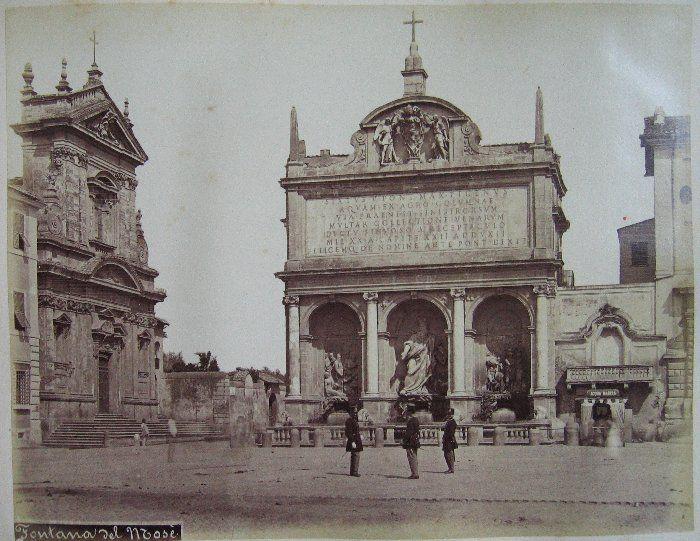 Fontana del Mose ante 1875