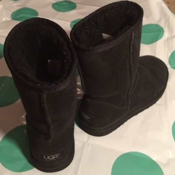 8ddf3e5a3ae UGG Shoes | Classic Short, Black, Uggs | Color: Black | Size: 6 | My ...