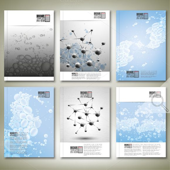 Best Science Brochure Or Flyer Templates Images On