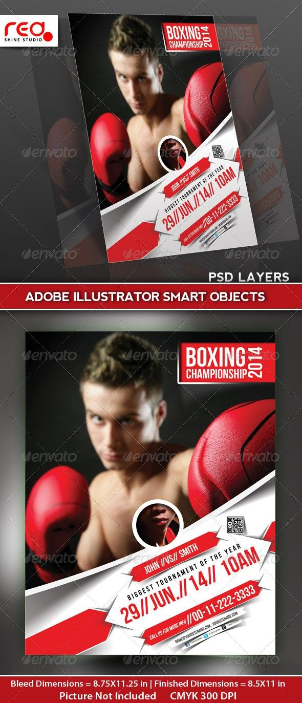 advertising boxing cage fighters concrete contemporary event