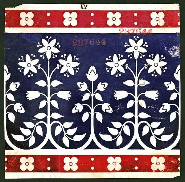 Ceramic / Porcelain tile - Minton design