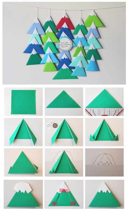 DIY Avent Calendar Little Mountains ^^