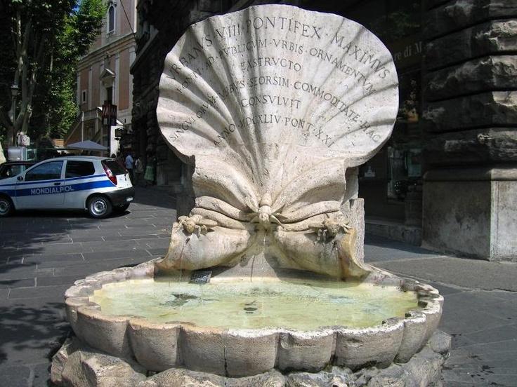 Bernini's Fontana delle Api - The Bees Fountain