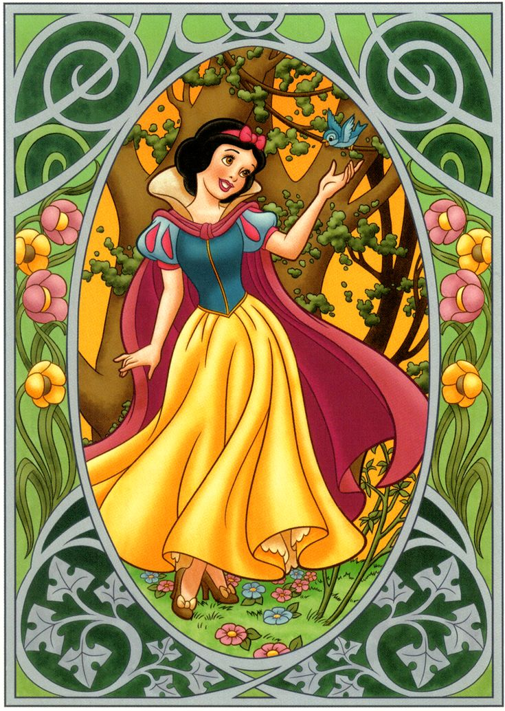 Snow White, designed by Cody Reynolds. LOVE this series!
