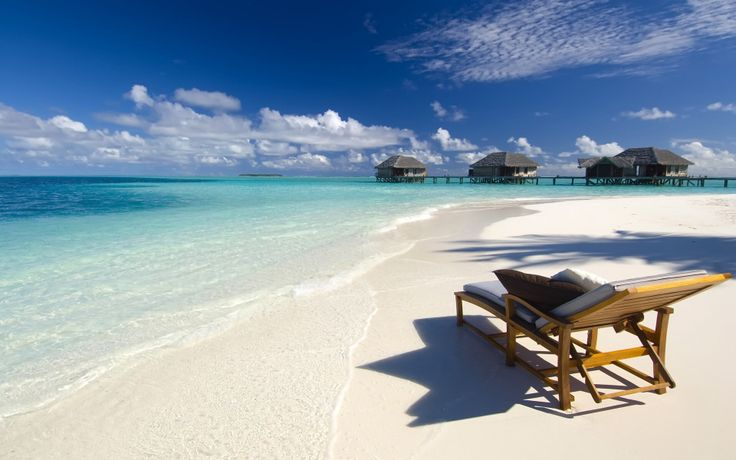 Maldives romantic beautiful sandy turquoise waters peaceful!
