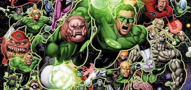 """Rise of the Corps - Green Lantern Reboot should be """"Green Lanterns"""" 