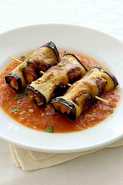 Involtini di melanzane, love eggplant