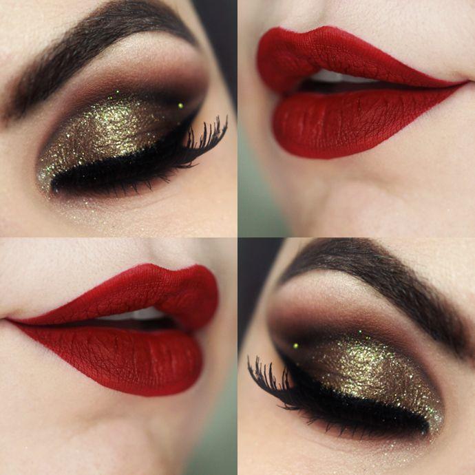 Tutorial – Maquiagem Luxo de Natal com Produtos Nacionais