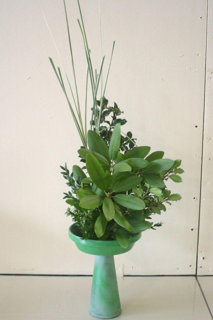 Best floral designs foliage images on pinterest