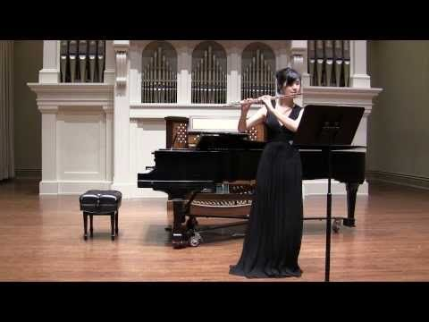 Paul Hindemith - 8 pieces for Solo Flute - YouTube
