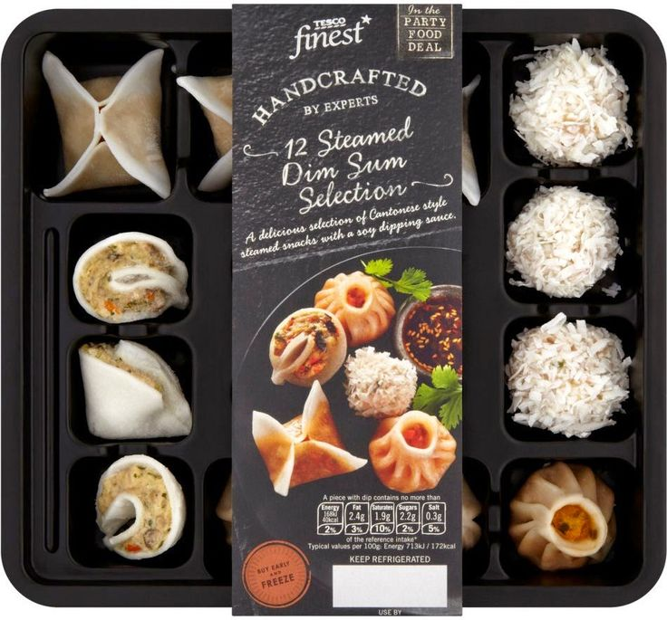 #gotitfree tesco finest party food dimsum christmas
