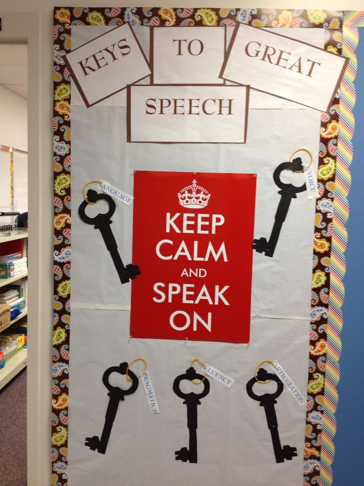 Speech Language Classroom Decorations ~ Best bulletin boards for communication images on