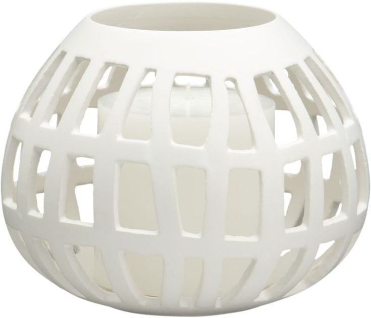 cage candleholder in all accessories | CB2
