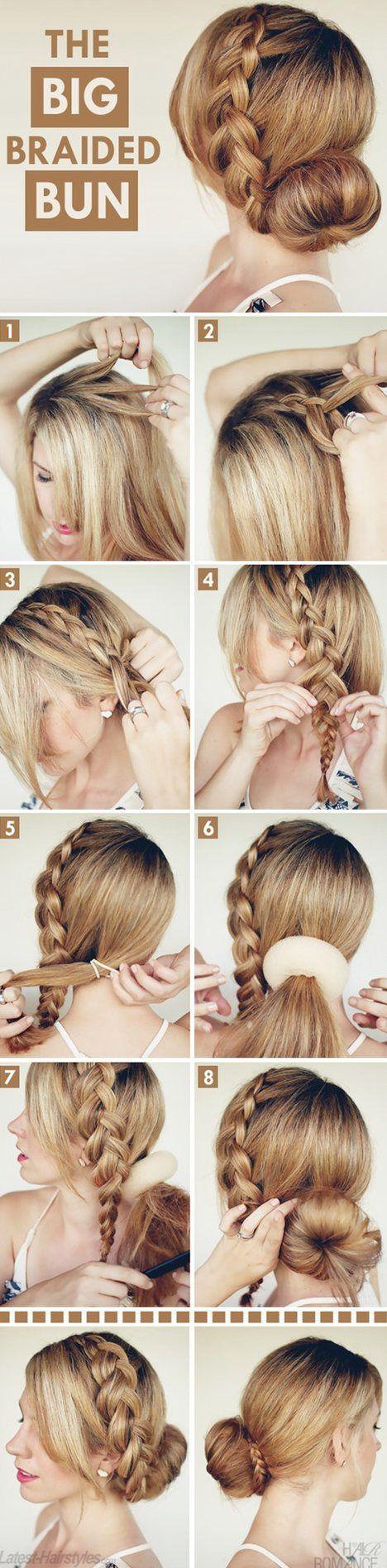 Magnificent 1000 Ideas About Medium Hair Tutorials On Pinterest Side Bangs Short Hairstyles Gunalazisus