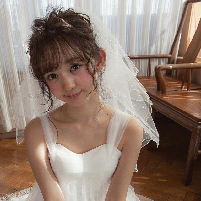 ウエディングヘア✨ ベールかわゆし👯👯👯 @akichan1105 #hair #make #wedding #weddinghair #bridal #bridalhair #headdress #ブライダル #ブライダルヘア #ウエディング #ウエディングヘア #プレ花嫁 #花嫁 #花嫁髪型 #ヘアメイク #大門 #編み込み # #love #instagood #tbt #photooftheday #FF #instafollow #l4l #tagforlikes and #followback