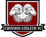 CROYDON ATHLETIC FC   -  old logo  - dissolved 2012