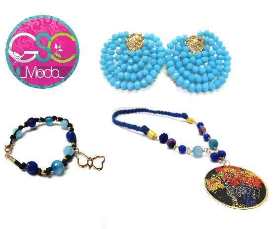 Si eres de las que te gustan las cosas artesanales tenemos esta propuesta para tu #look @gscmoda de hoy #zarcillos #pulseras #collares #estilo #fashion #ventas #mayor #detal #caracas #ccs #venezuela #vzla #in #pasarela #hechoamano #manual #mujres #mujer #accesorios #bisuateria www.gscmoda.com