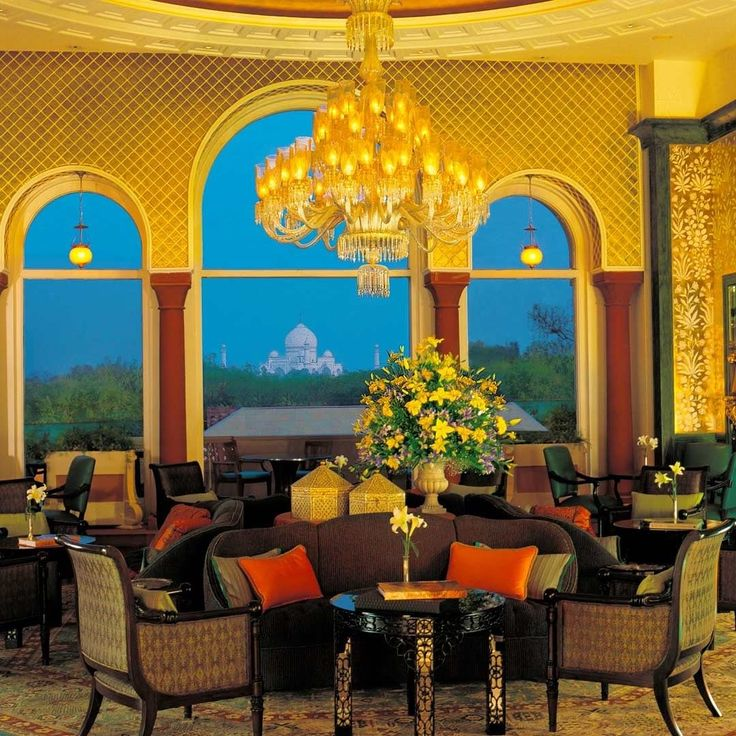 The Oberoi Amarvilas Agra India. With incredible views of the Taj Mahal from all rooms amplified with incredible hospitality a must stay when you visit Agra. #oberoiamarvilas #hotellobby #agra #authentictravelexperiences #adventure #bucketlist #culture #getaway #holiday #incredibleindia #india #instago #instatravel #luxury #luxuryasia #luxurytravel #loveindia #monumentsoflove #northindia #sunset #tourism #travel #travelgram #travelindia #travelphotography #travlepics #vacation #view…