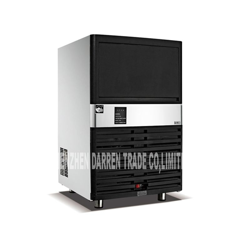 (470.82$)  Watch now - http://aitox.worlditems.win/all/product.php?id=32800844357 - HS-40 Commercial Ice Maker Party Ice Ice Machine 20KG ice storage capacity, 40KG / 24H Ice Tea Shop Bar Ice Machine 320W 220V