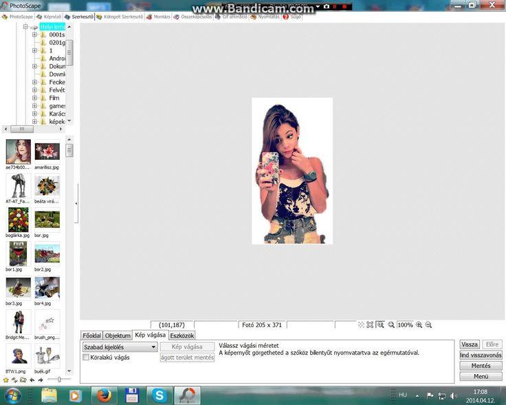 Saját PNG a PhotoScape-val