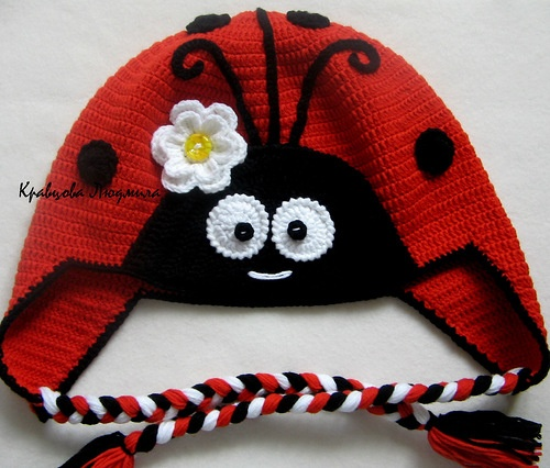 1000+ images about Crochet lady bug beanies and things on ...