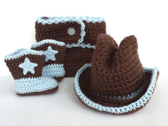 Hey, I found this really awesome Etsy listing at https://www.etsy.com/listing/198084601/crochet-baby-boy-cowboy-hat-boots-and