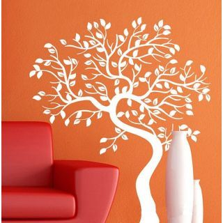 Bending Tree Wall Sticker