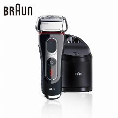 [ $277 OFF ] Braun Electric Shaver Razor 5090Cc For Men Shaving Rechargeable Washable Cleaning Center Barbeador Safety Razor