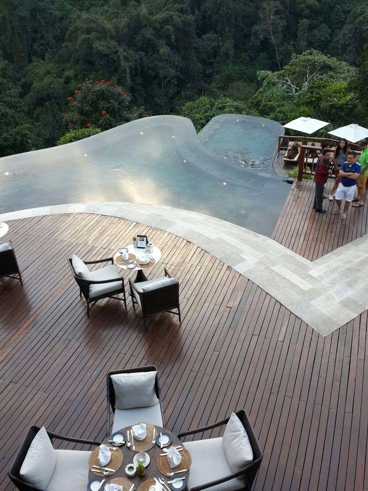 Hanging garden Ubud Bali