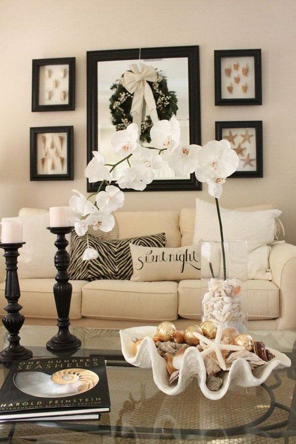 Beige Wall Painting for Living Room.