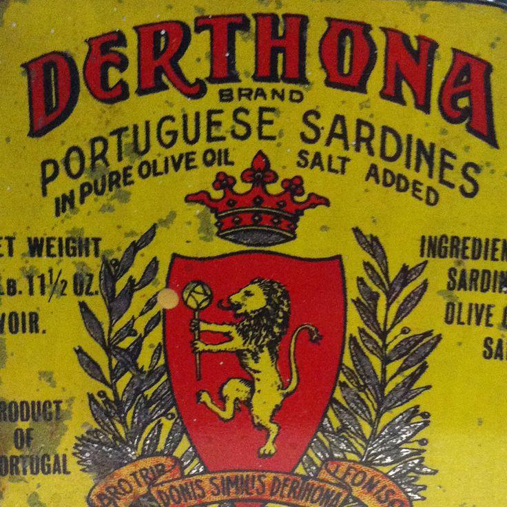 E questo l'avevate mai visto? Sardine #Derthona, prodotte in Portogallo