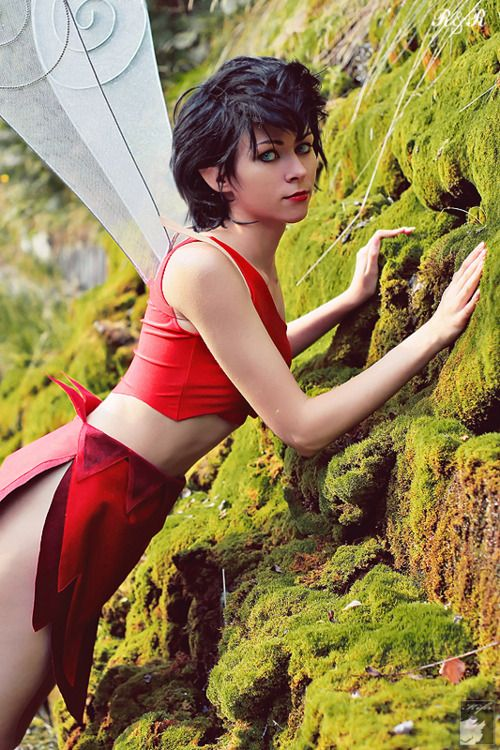 Crysta from FernGully cosplay