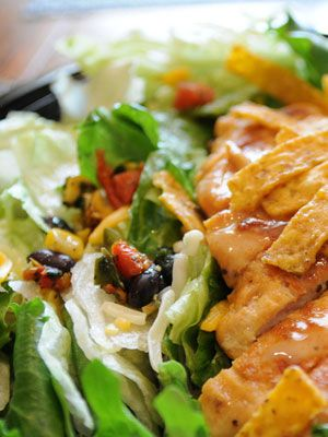 McDonald's Southwest Salad With Grilled Chicke   Healthy Wife Happy Life