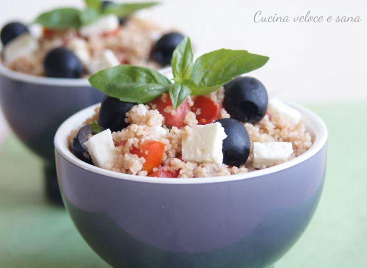 insalata di couscous